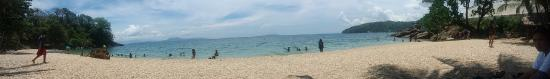 Pebble Beach: the beach