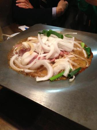 Tanba nabe Variety meat ( Horumonyaki) Kawamura