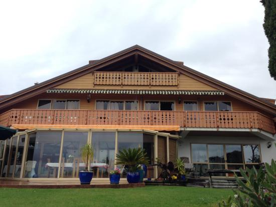 Chalet Romantica : face of the house