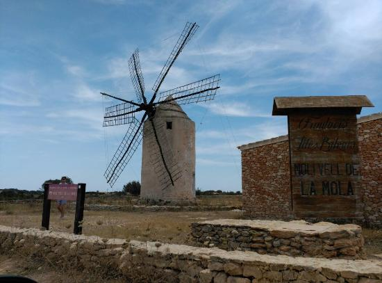 La Mola Windmill