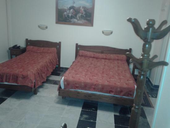 Hotel d'Hydra: camas