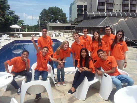Carlton Hotel Brasilia: Junto com a equipe Jovem Senador