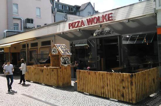 Pizza Wolke