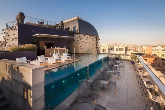 hotel ohla barcelona terraza chill out