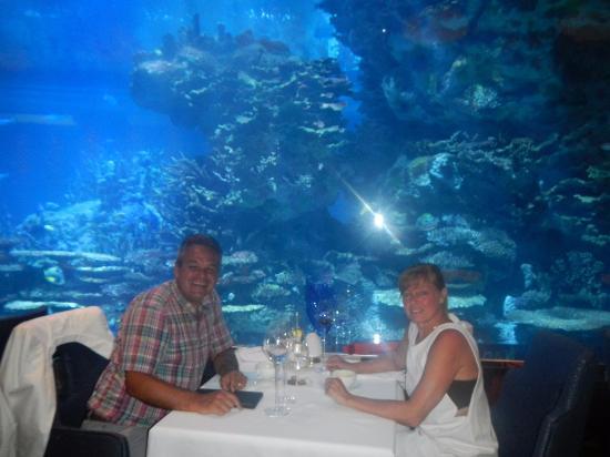 Burj Al Arab Jumeirah Seafood Restaurant Mahara Under Sea Level
