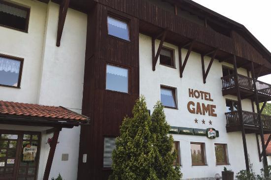 Klenci pod Cerchovem, Tschechien: ホテル正面