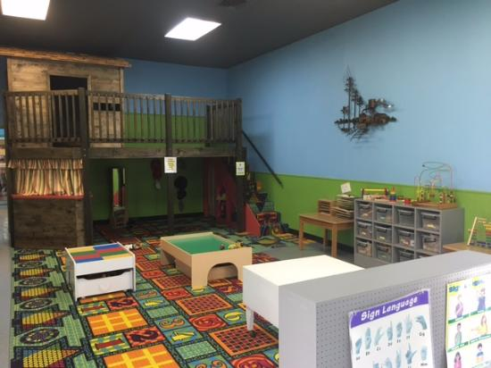 Henderson, TX: Children's playroom in depot museum