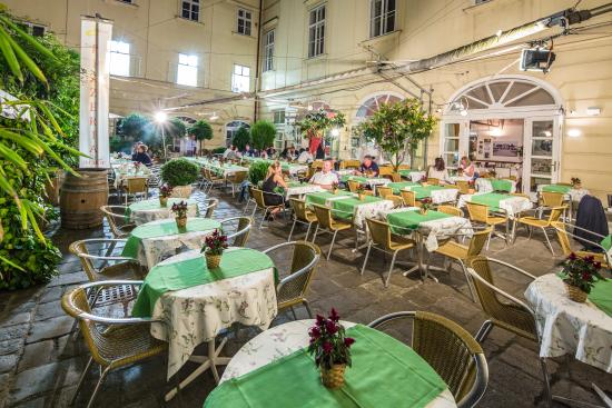 Regina Margherita: Italy by night