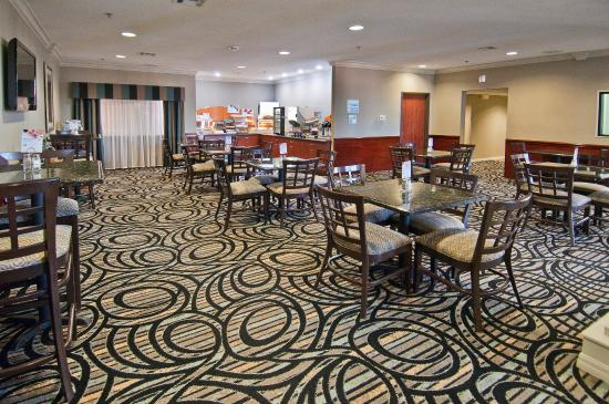 Holiday Inn Express Hotel & Suites Lake Charles: Breakfast Bar