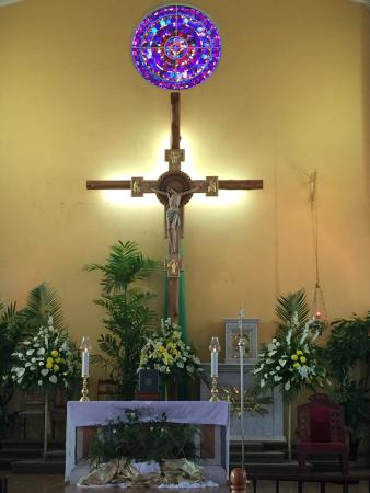 San Fernando, Trinidad: The beautiful altar