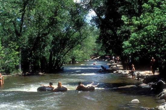 Holiday Inn Express Boulder: Pick up an inner tube and drift down Boulder Creek.