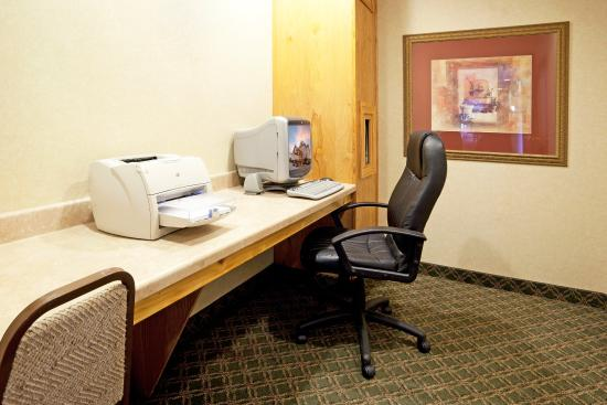 Holiday Inn Express Hotel & Suites: Business Center