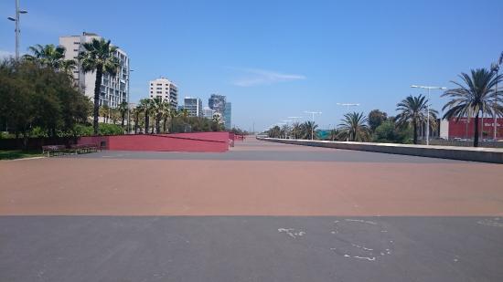 Parque lineal de Garcia Faria
