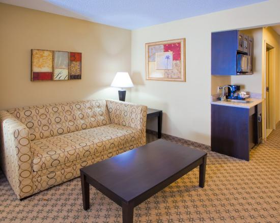 Chestertown, Μέριλαντ: Sleeper sofa's are found in all of our suites