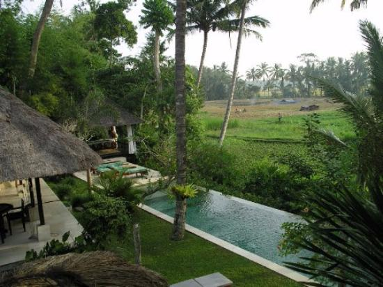 Villa Pantulan: Hotel grounds, pool and surrounding country