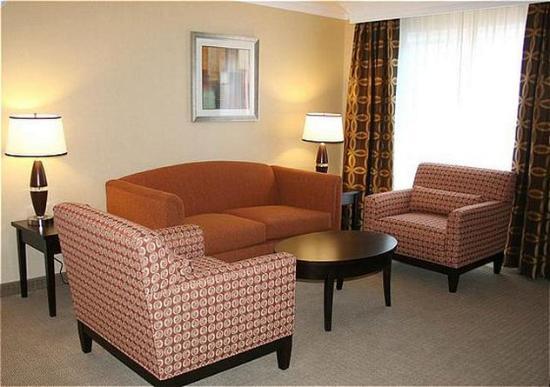 San Mateo, Californien: Suite - Living Room.