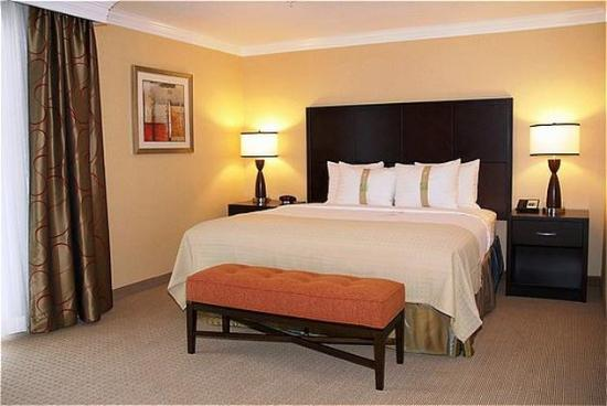 San Mateo, CA: Suite with King Bed.