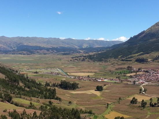 Hill overlooking Huarocondo