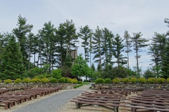 Rindge, NH: Open-air church