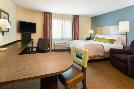 Candlewood Suites Baltimore-Linthicum: Queen Bed Studio Suite
