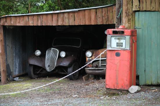 Kilgarvan motor museum: Surprise sous l'appentis : une Traction irlandaise !