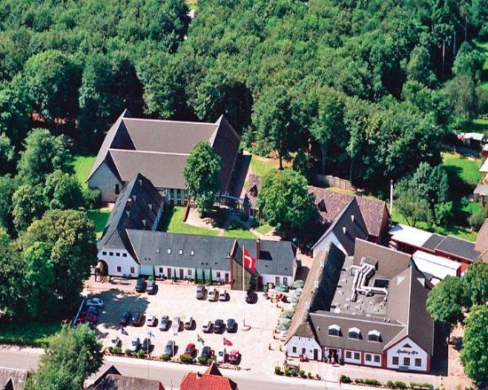 Hovborg, Dinamarca: Aerial View