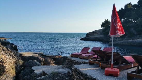 Ulcinj, Montenegro: Ladies only Beach