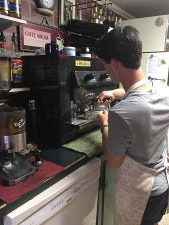 ชานุต, แคนซัส: Great coffee, great atmosphere!