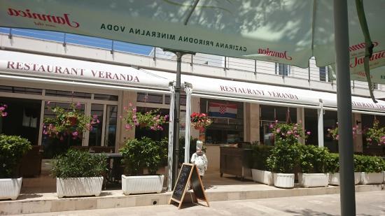 Restoran VERANDA in Centar Marijan