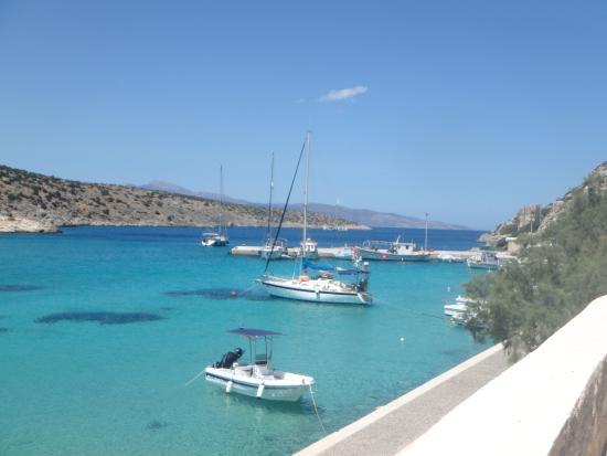 Ciudad de Naxos, Grecia: The Harbor of Iraklia
