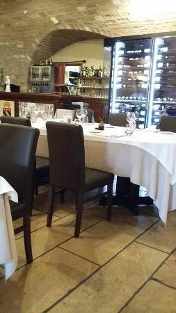 Hostellerie Saint Vincent : Restaurant L'Alambic