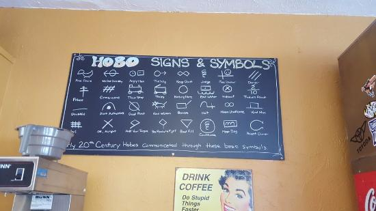 Very Cool Read Hobo Signs And Symbols Picture Of Vagabond