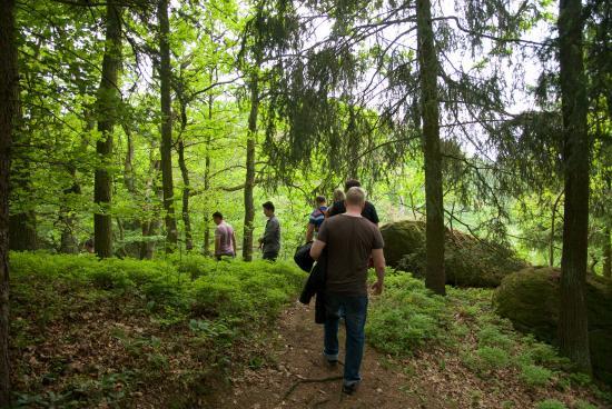 Windischeschenbach, Tyskland: Richtung Waldnaabtal