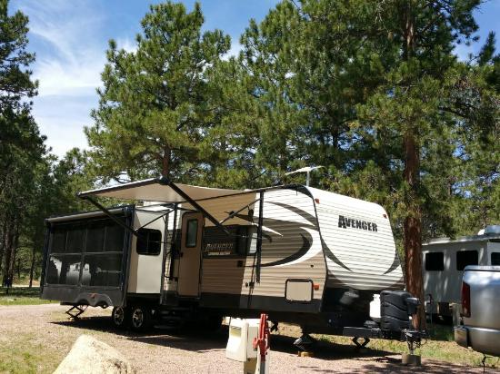 United States Air Force Academy USAF FamCamp Is A Very Nice Military RV Park