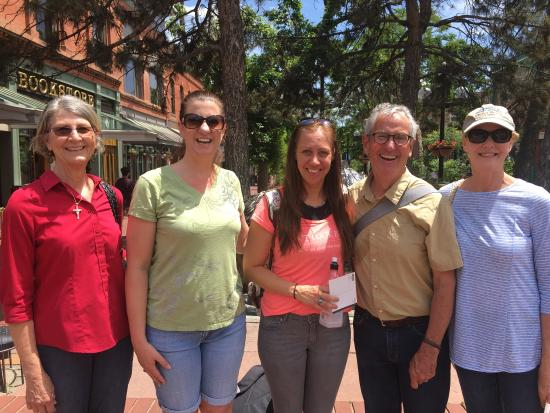 Boulder Walking Tours: It was a nice and beautiful walk and I learned so much from our enthousiastic host, a great way