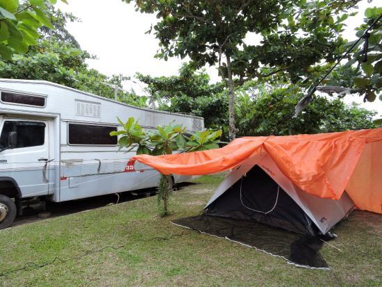 Pousada e Camping Lagoa da Conceicao: Camping