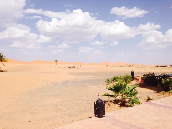 Desert Tripper: Maravillosas vistas desde la piscina del hotel