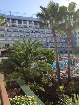 Paradise Park Fun Lifestyle Hotel: View from balcony