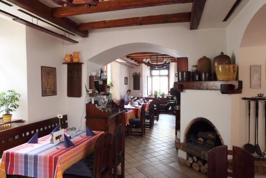 Vyskov, Republika Czeska: Uvnitř restaurace