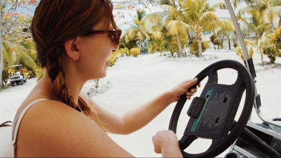 Mundo Maya Jungle Tours: Golf Cart Fun