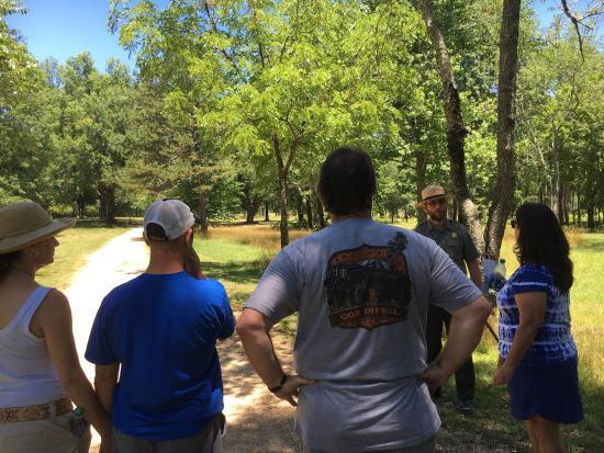Cowpens National Battlefield: Wonderful battlefield tour made the battle come alive!