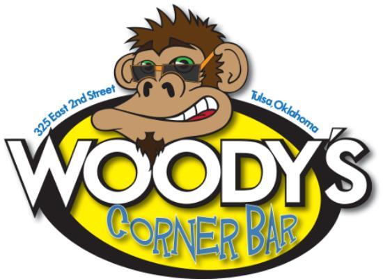 Woody's Corner Bar: Logo