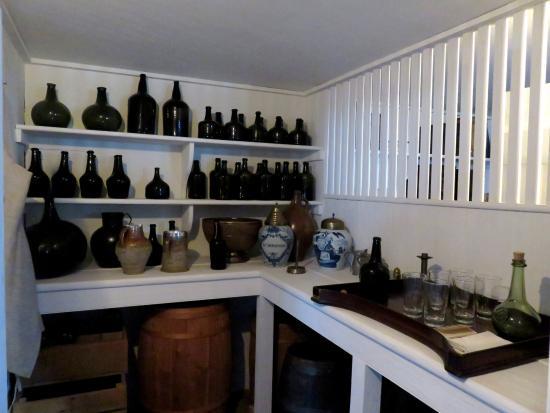 North Carolina History Center - Tryon Palace: Storeroom