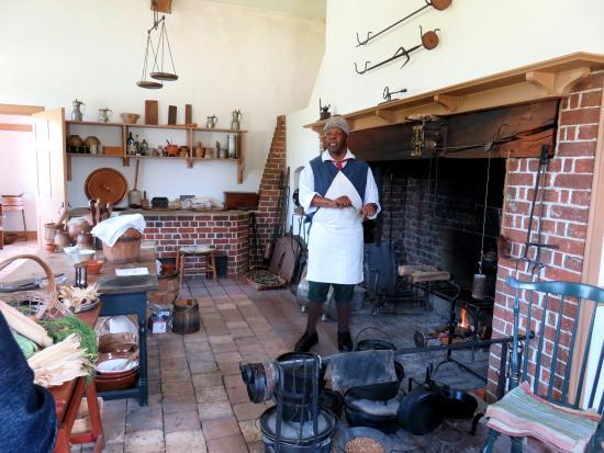 North Carolina History Center - Tryon Palace: The kitchen