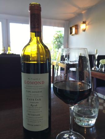 Tiroran House Hotel: South African red wine