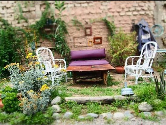 Casa Tomada: el jardin