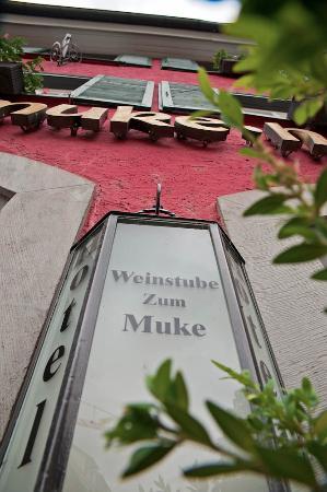 Hotel Residenz-Ravensburg: So sieht man das Hotel von der Straße aus.
