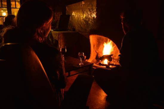 Casa Tomada: fireplace