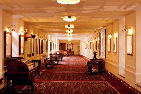 The Imperial Hotel: Imperial Hallways