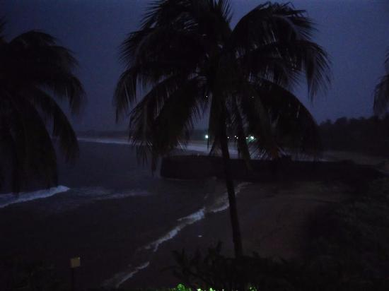 Taj Fort Aguada Resort & Spa, Goa: View from room at night